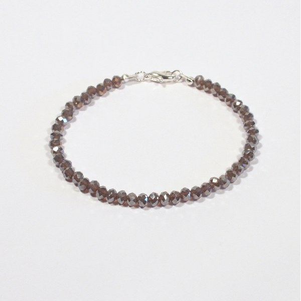 bracciale grigio piombo € 5 00 bracciale con perle grigio piombo ...